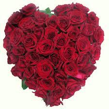 corazón con flores