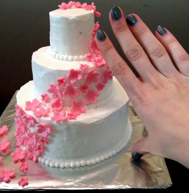 Snips Amp Spice Steve And Judys Surprise Wedding Cake