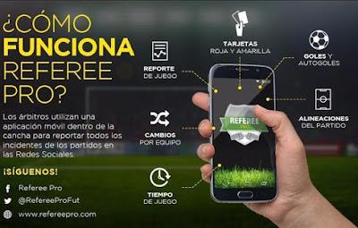 App para árbitros