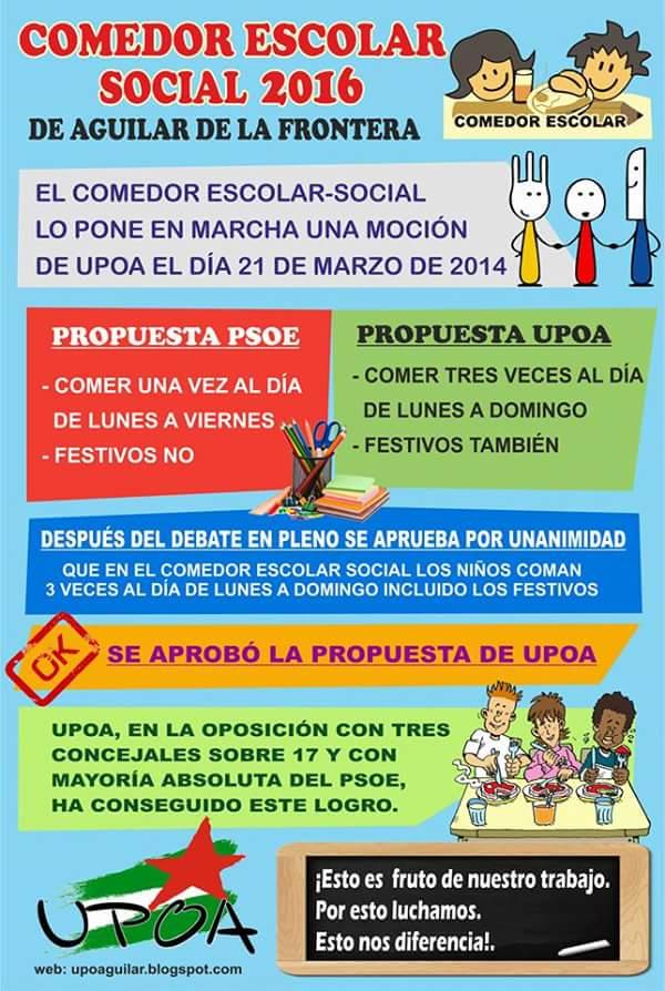 COMEDOR ESCOLAR SOCIAL 2016