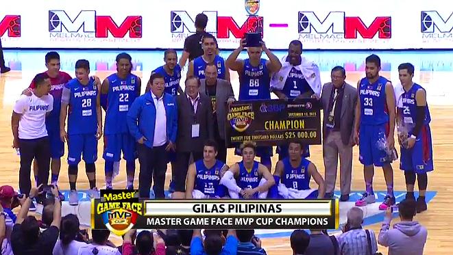 MVP Cup 2015 Final Standings, Awarding Ceremony & Replay Videos / Gilas Pilipinas 3.0