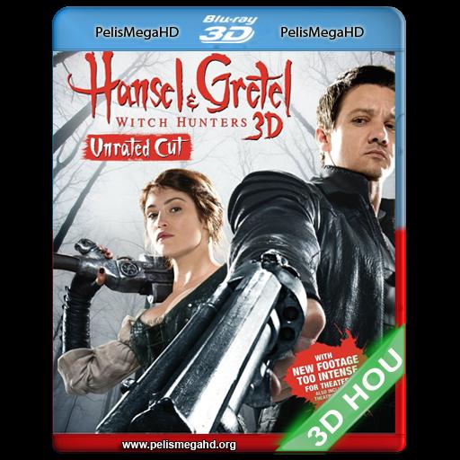 HANSEL & GRETEL: CAZADORES DE BRUJAS (2013) FULL 3D HALF OU 1080P HD MKV ESPAÑOL LATINO