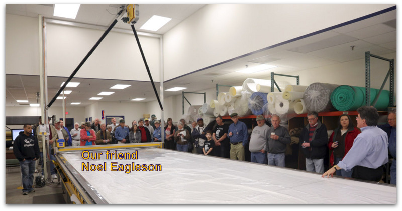 Positive Earth Noel Eagleson Visit Moss Motors Virginia