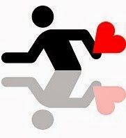 running love carta amor runner corredor corazon zapatilla