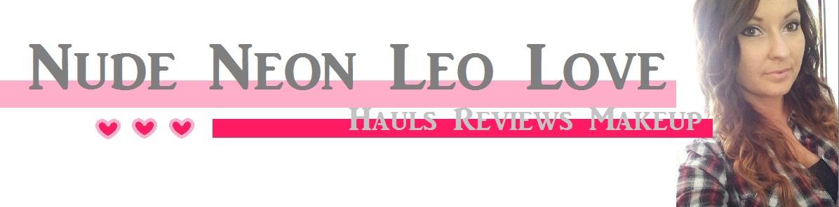 Nude Neon Leo Love ♥