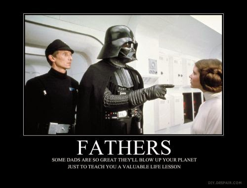 darth vader fathers day card