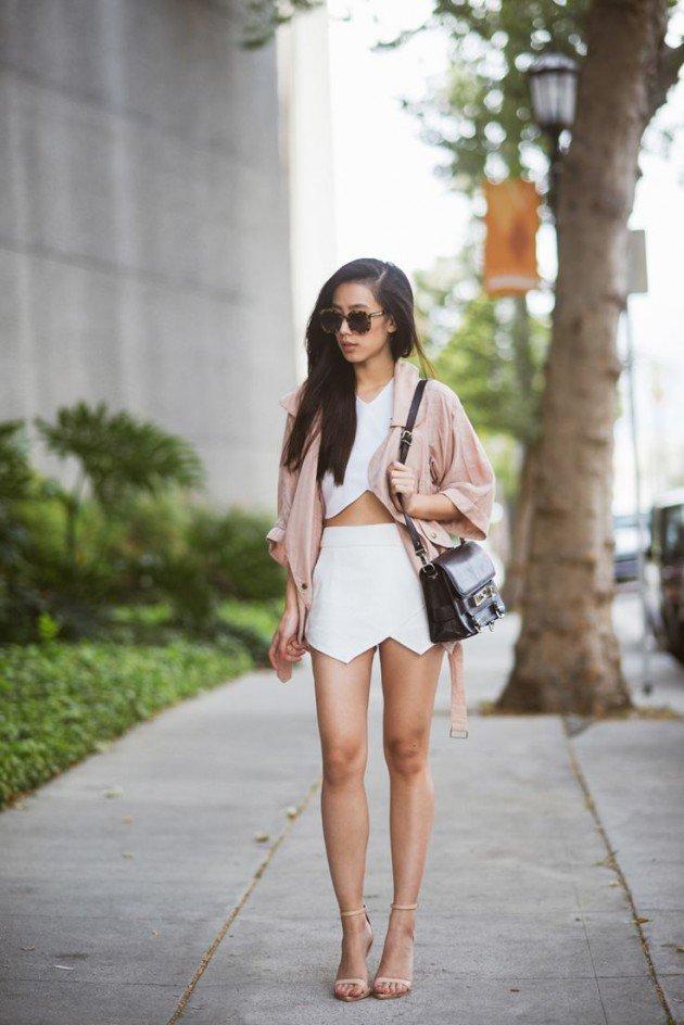 Outfits para lucir top cortos | Moda y Belleza