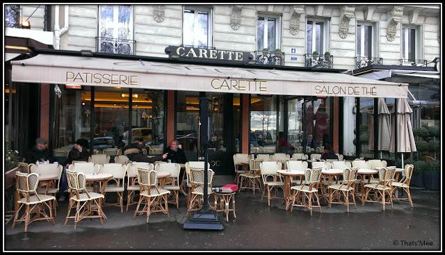 Carette salon de the Tour Eiffel 4 place du trocadéro Pari 16 macarons