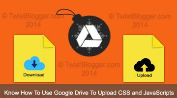 host files on google drive