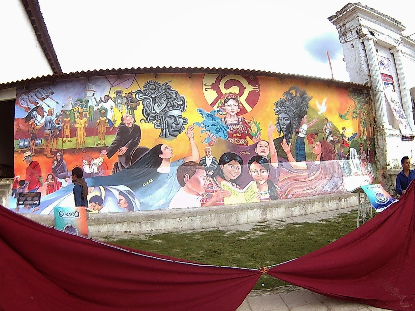 Noticias comunicarte mural nebaj hist rico for Caracteristicas de un mural