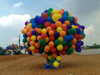 balon pelepasan di jakarta