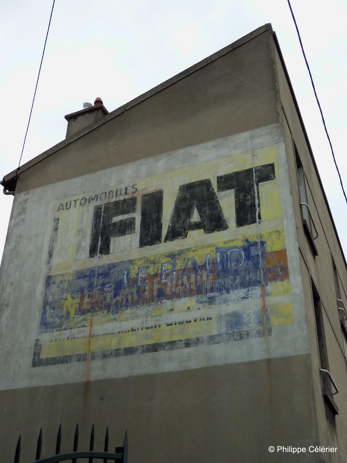Les murs peints s 39 affichent novembre 2011 for Garage fiat creteil