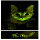 Gato verde brilhante ajuda na pesquisa da aids
