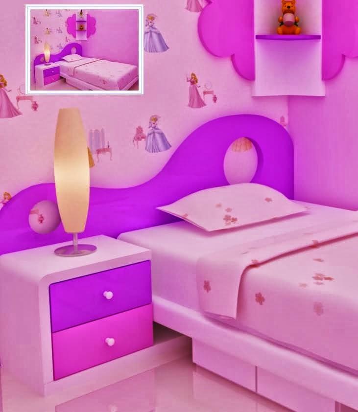 Desain Kamar Untuk Anak Perenpuan Minimalis