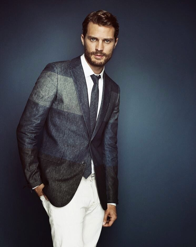 Scans y Nuevo outtake HQ: Jamie Dornan en Revista Telegraph (UK)