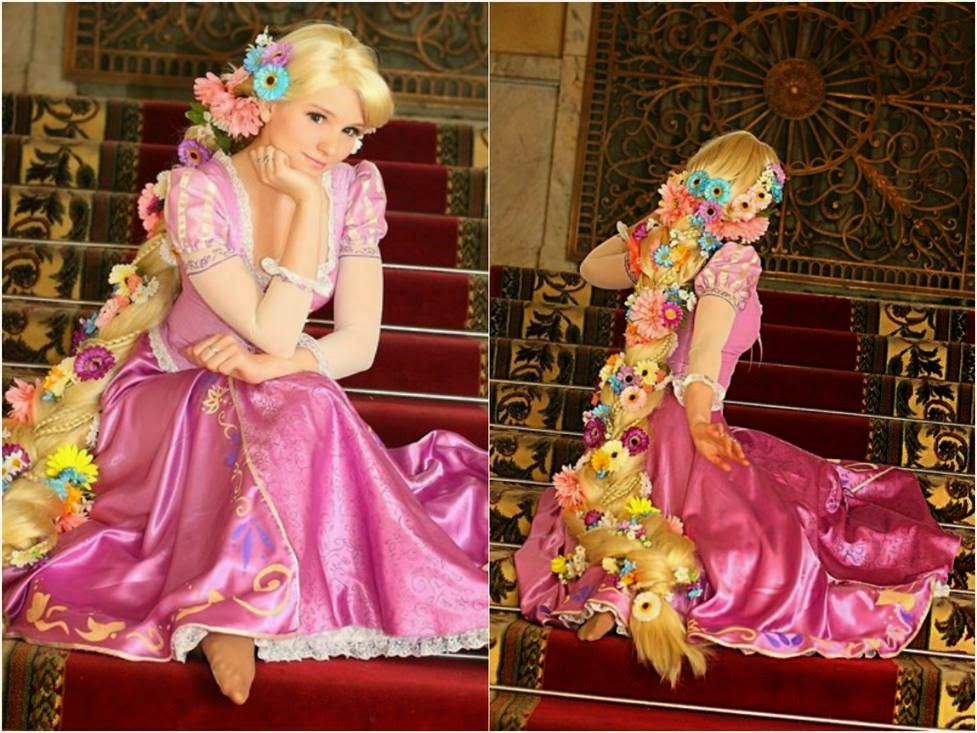 Rapunzel Cosplay Contact Lenses from Tangled
