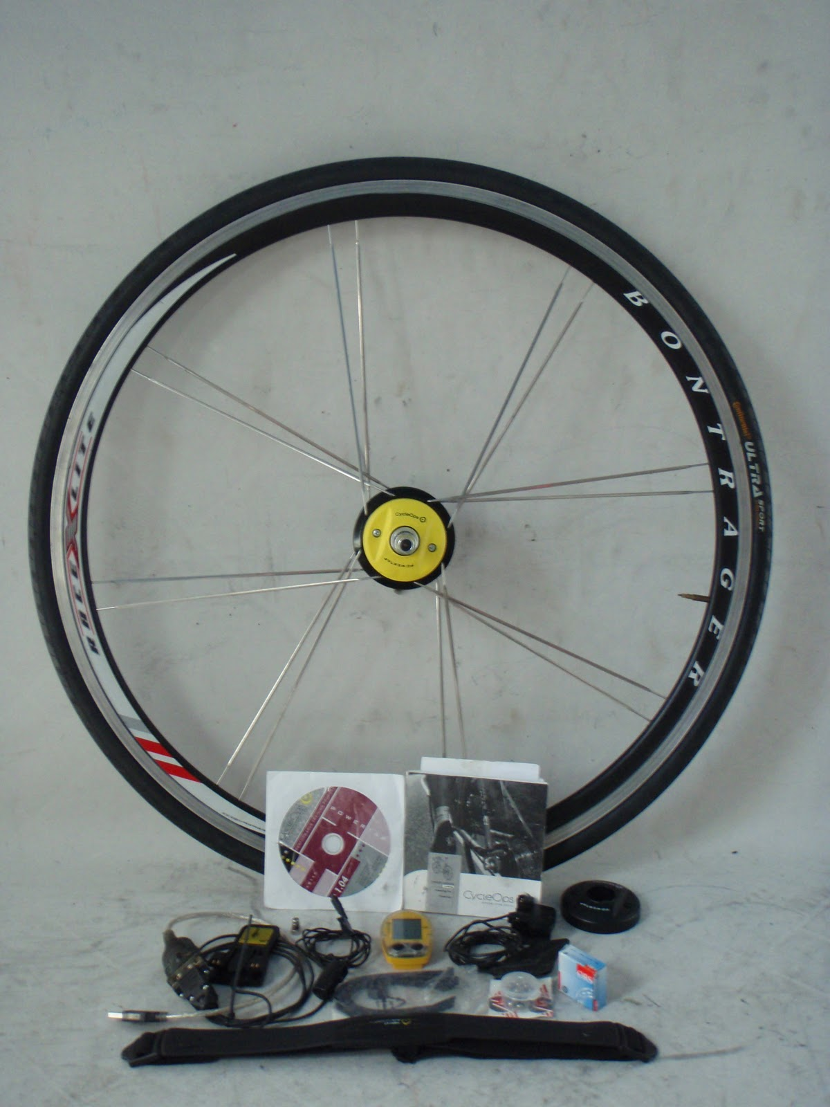 Frame and Wheel Selling Services: Bontrager Race X Lite CycleOps ...