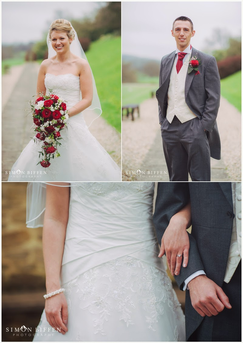 Bride and Groom at Dillington House