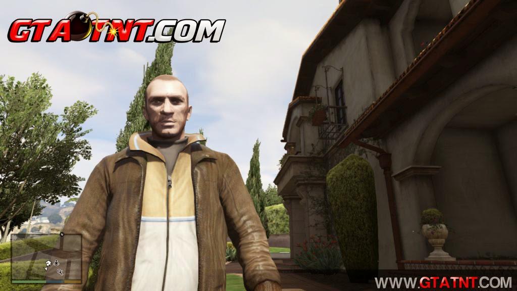 Niko Bellic Para GTA V (Xbox360)