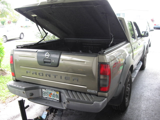 2002 Nissan Frontier 4X4 image