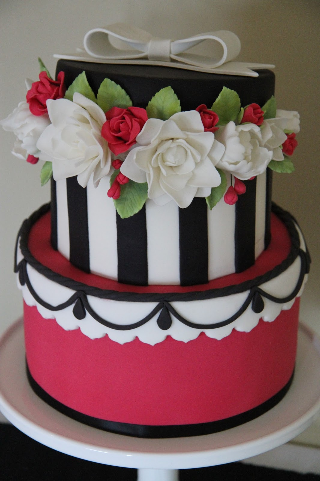 Leonies Cakes And Parties Hat Box Cake