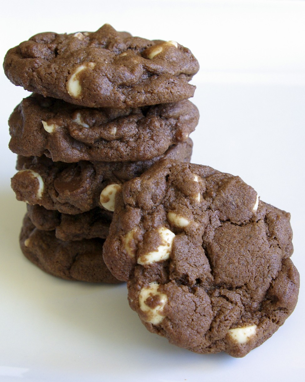 Triple Chocolate Cookies Recipe — Dishmaps