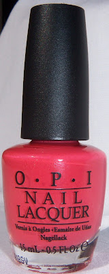 OPI I Eat Mainely Lobster - Bottle