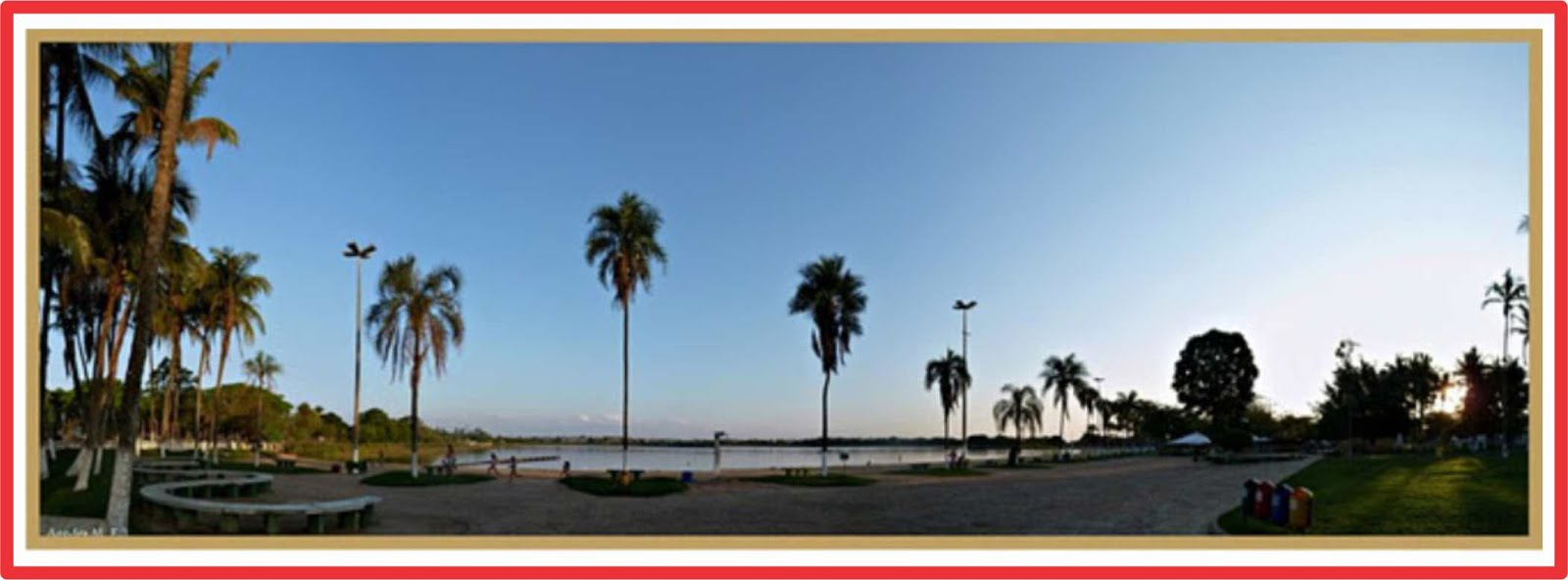 Lagoa da Prata A Cidade do Sol  Praia Municipal