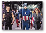 . Black Widow (Scarlett Johansson) and Captain America (Chris Evans).