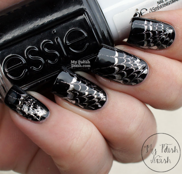 My polish stash halloween nails drag marble spiderweb design halloween nail art prinsesfo Image collections