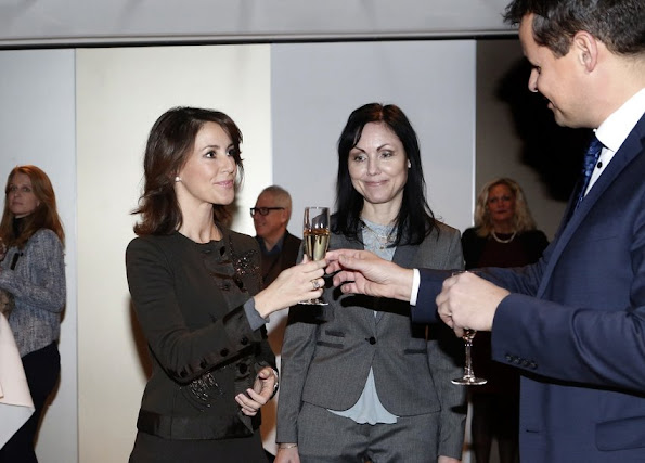 Princess Marie of Denmark attended International World Autism Conference in Herning, Denmark. Princess Marie is Denmark patron and Denmark Representative of World Autism Foundation