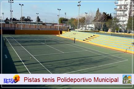 La reserva de las pistas de tenis se puede hacer en el mismo día en la instalación, previo pago de los precios públicos establecidos, se dispone de una semana de margen para reservar