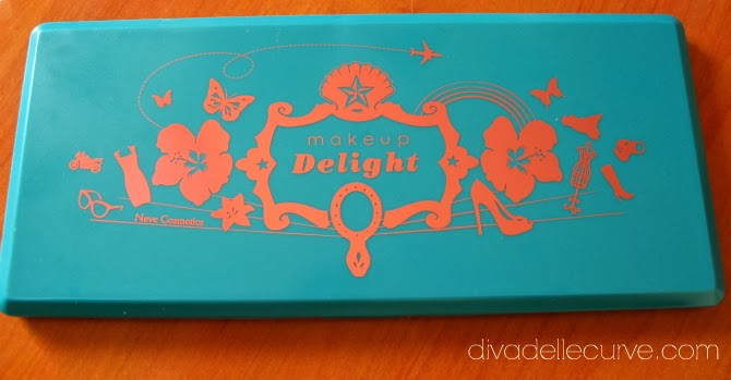 palette makeup delight per nevecosmetics