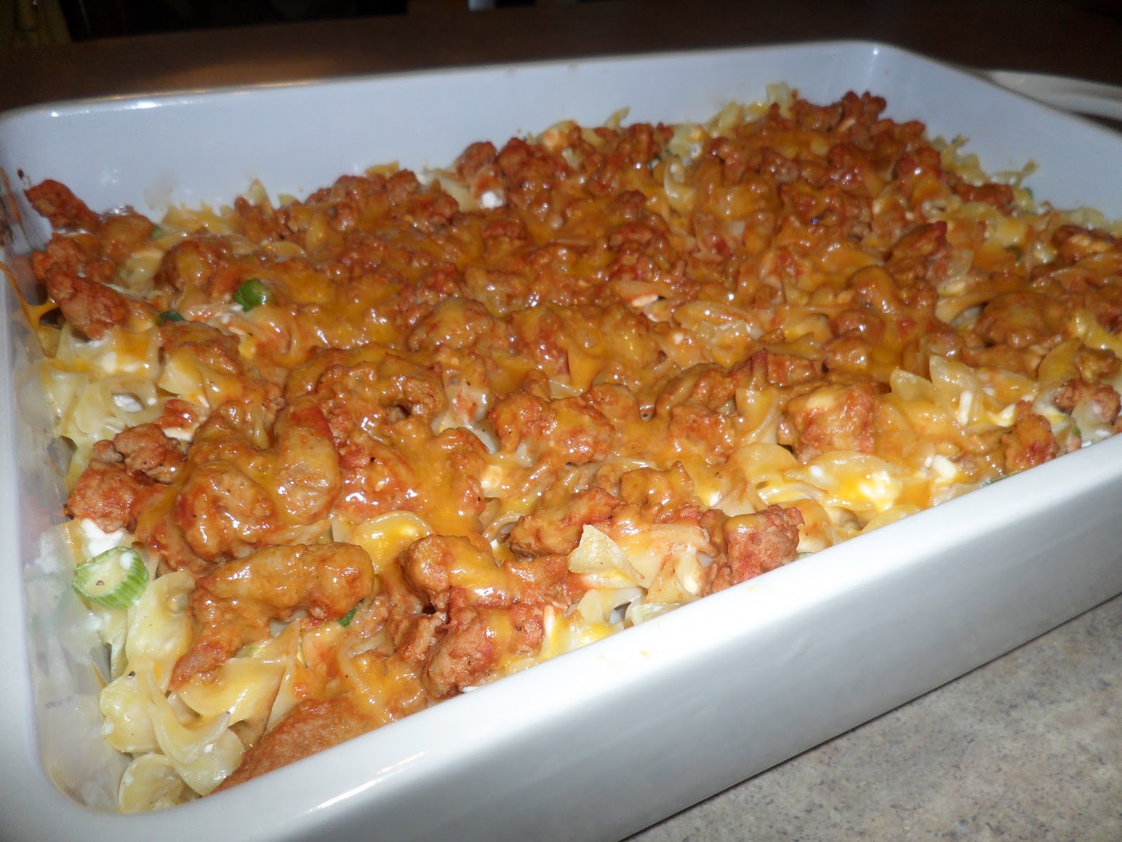 New Chapter...: Turkey Noodle Casserole