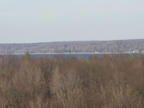 Hamlin Lake from the dunes