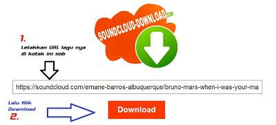 Cara Download Lagu yang Tidak Berbayar atau Berbayar di soundcloud tanpa IDM dengan Mudah