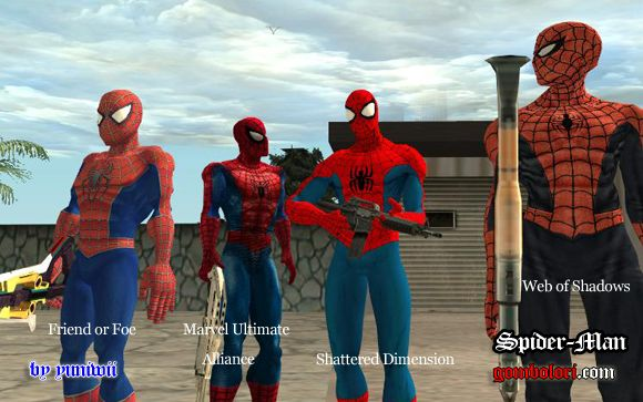 Red Spider- Man (released April 21, 2011)
