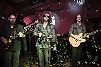 Crónica concierto The Vegabonds Febrero 2012 por Fran Cea