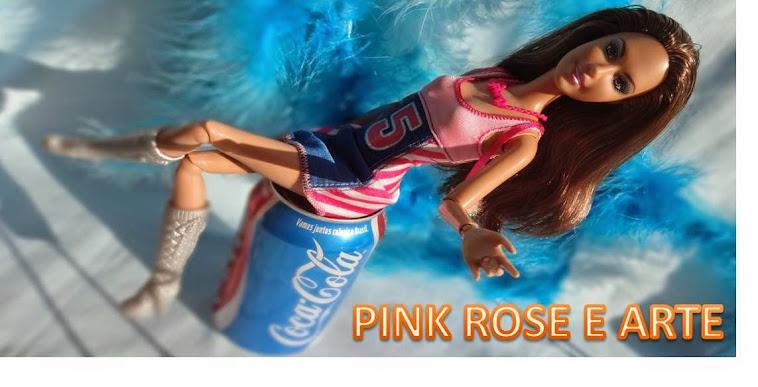 Pink Rose e Arte