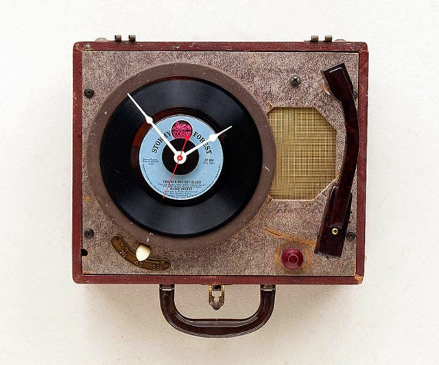 Cool Creative Recycle Clock