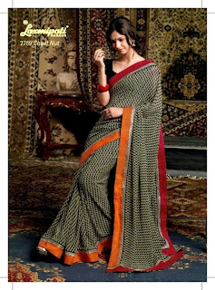 Laxmipati Embroidered Sarees 2014-15