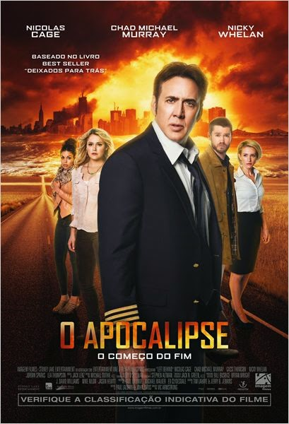 Filme O Apocalipse (Left Behind) Dublado AVI BDRip