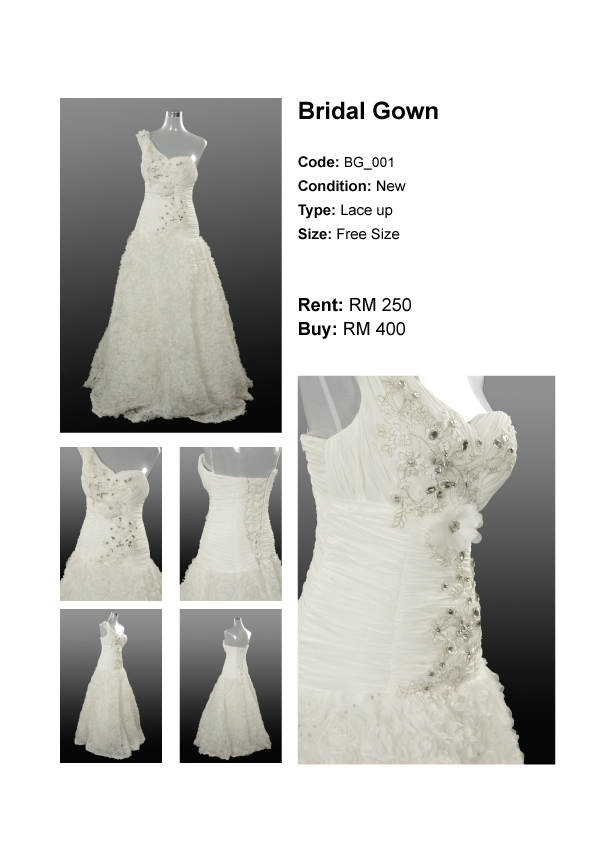 Gown for Rent Malaysia