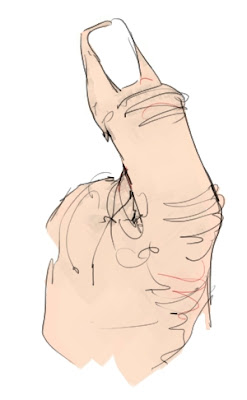 Gesture, Thumb, Hand, Drawing, Loose, anatomy, Color