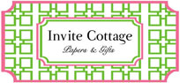 Invite Cottage...monogrammed gifts, personalized stationery & invitations