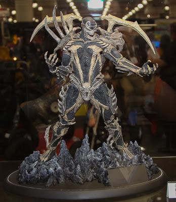 McFarlane Toys 2013 Toy Fair Display - Curse of Spawn Statue