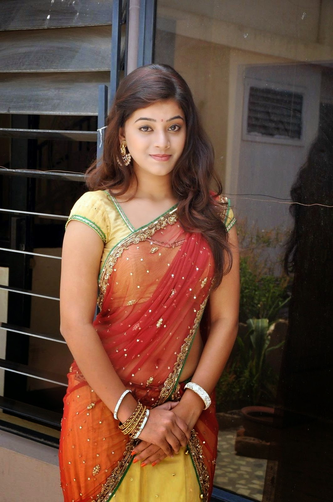 Yamini's Cute Half Saree Gallary