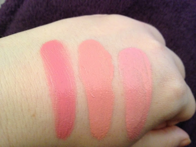 NYX Swatches Cream Blush
