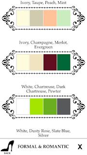 romantikus színek