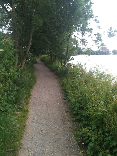Biking the Thames Path